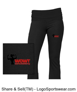 S16 - Ladies Yoga Pant Design Zoom